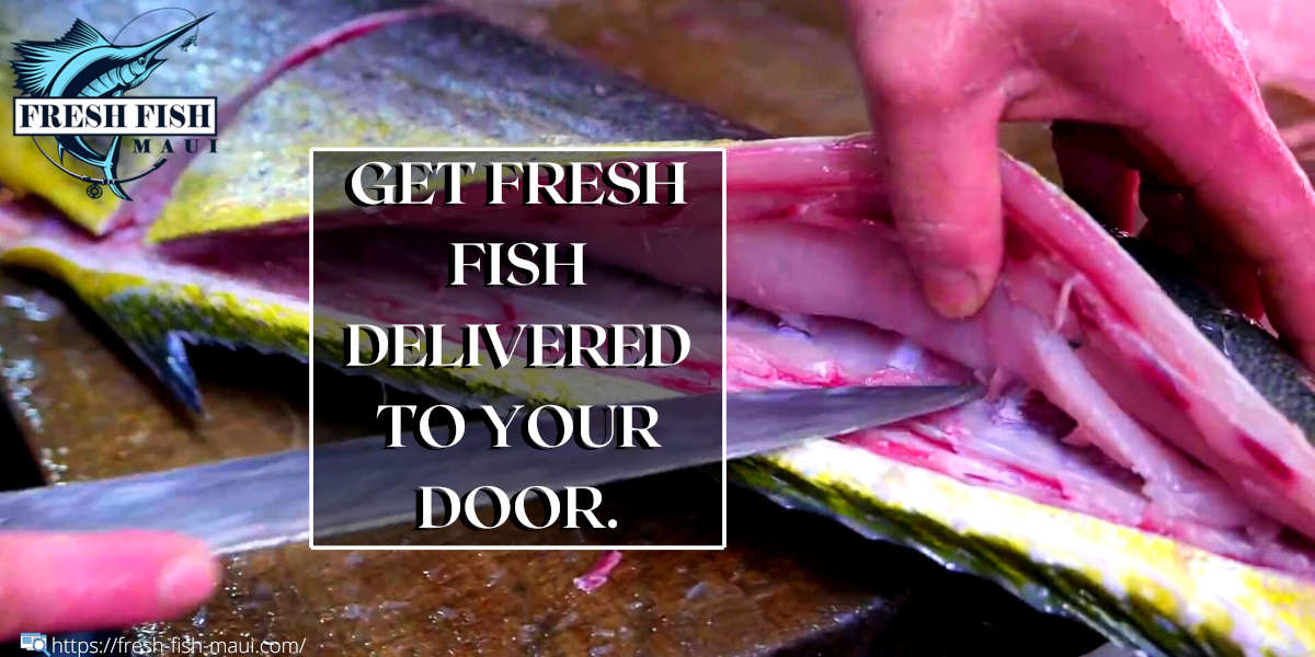 Fresh fish cut, packaged, and delivered to your door.